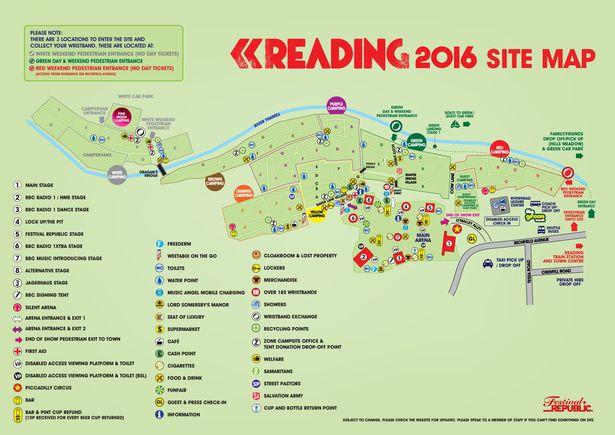 Reading Festival Car Park