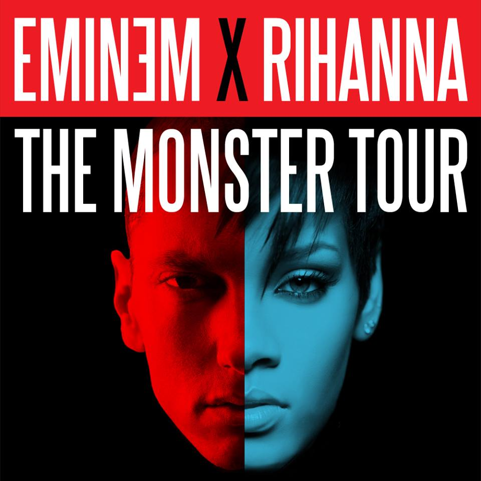 Eminem, Rihanna, The Monster, MMLP2, The Monster Tour, USA, concerti