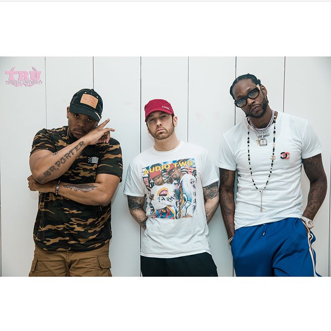 Eminem incontra 2 Chainz, ecco le foto e il video
