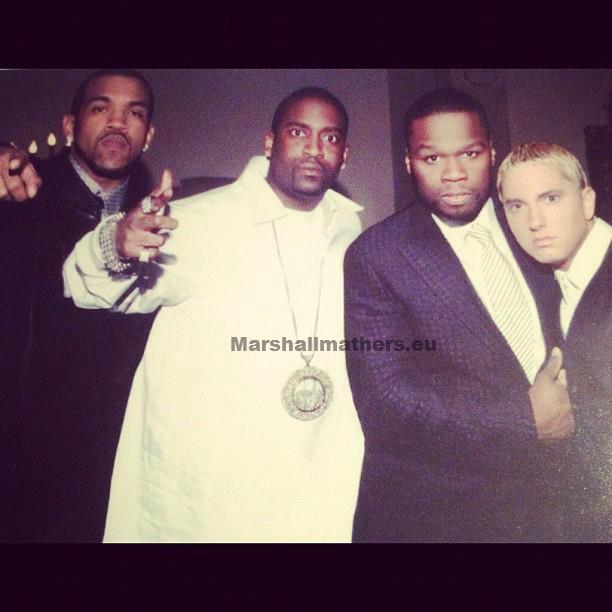 Eminem,G-Unit,Tony Yayo,50 Cent, Lloyd Banks