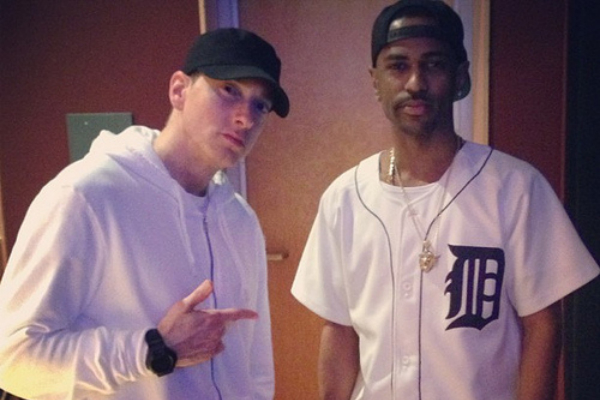 eminem ft big sean, eminem collaborazione, eminem featuring, eminem e big sean