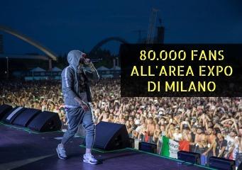 eminem revival tour, eminem milano 7 luglio, eminem 2019 tour