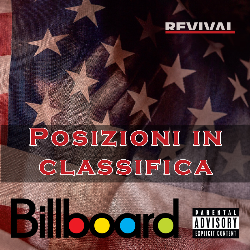 eminem revival,  eminem classifiche, eminem record