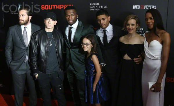 Southpaw promo / red carpet