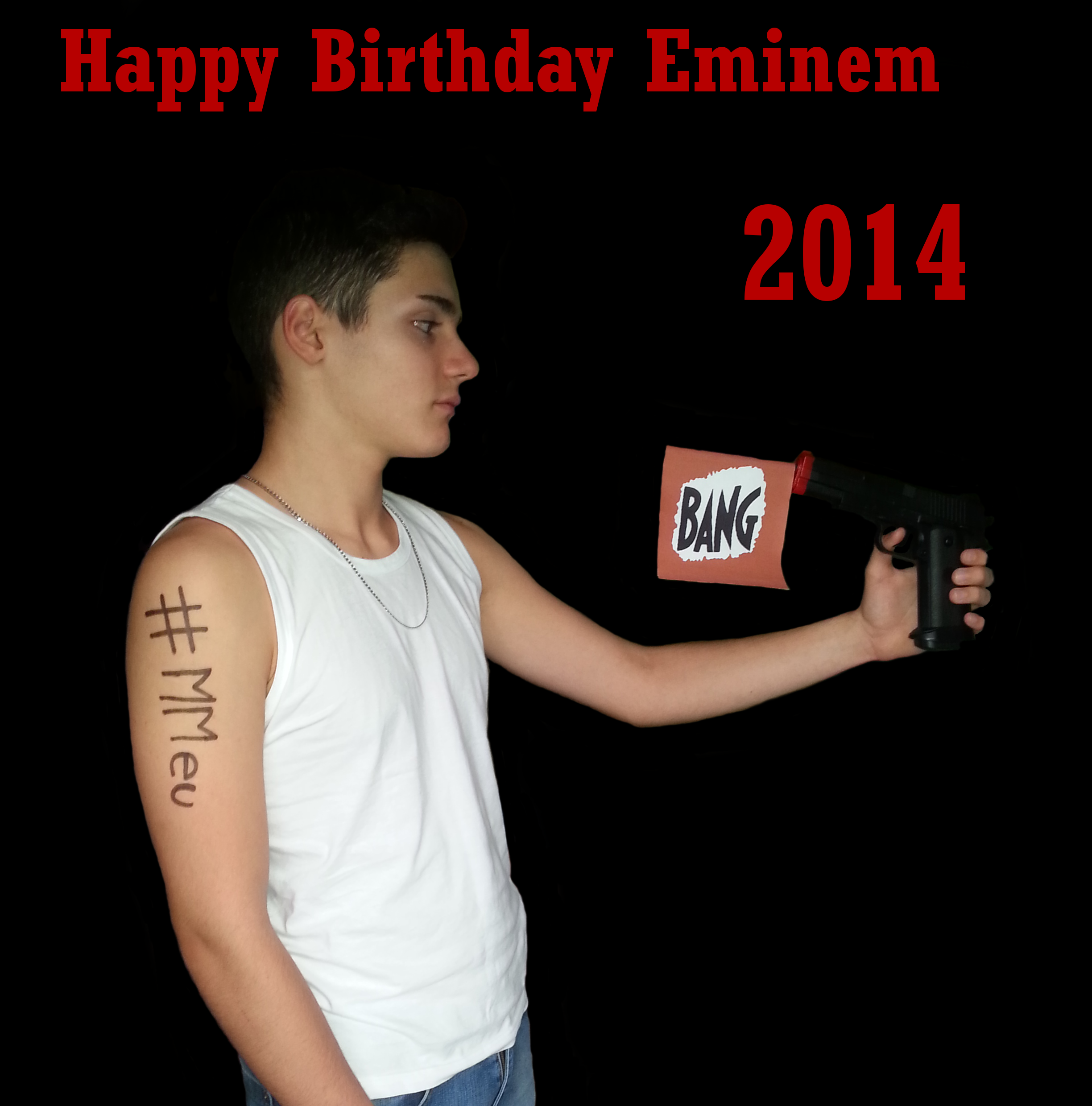 Happy Birthday Eminem 2014