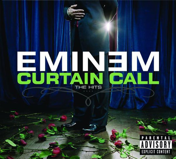 eminem curtain call the hits, eminem classfica