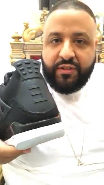 dj khaled sneakers, dj khaled eminem, eminem jordan iv
