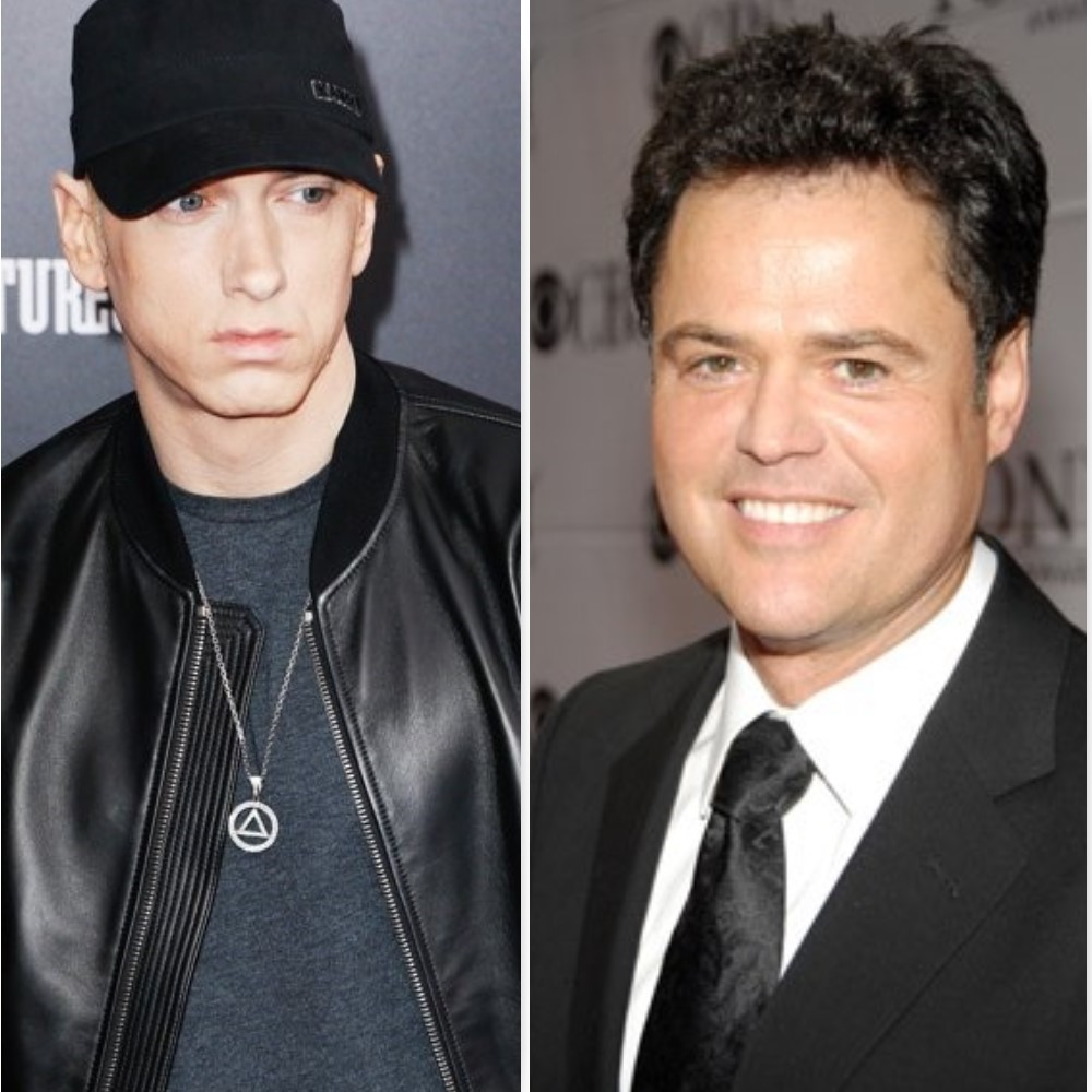 donny osmond eminem, donny osmond eminem fan,