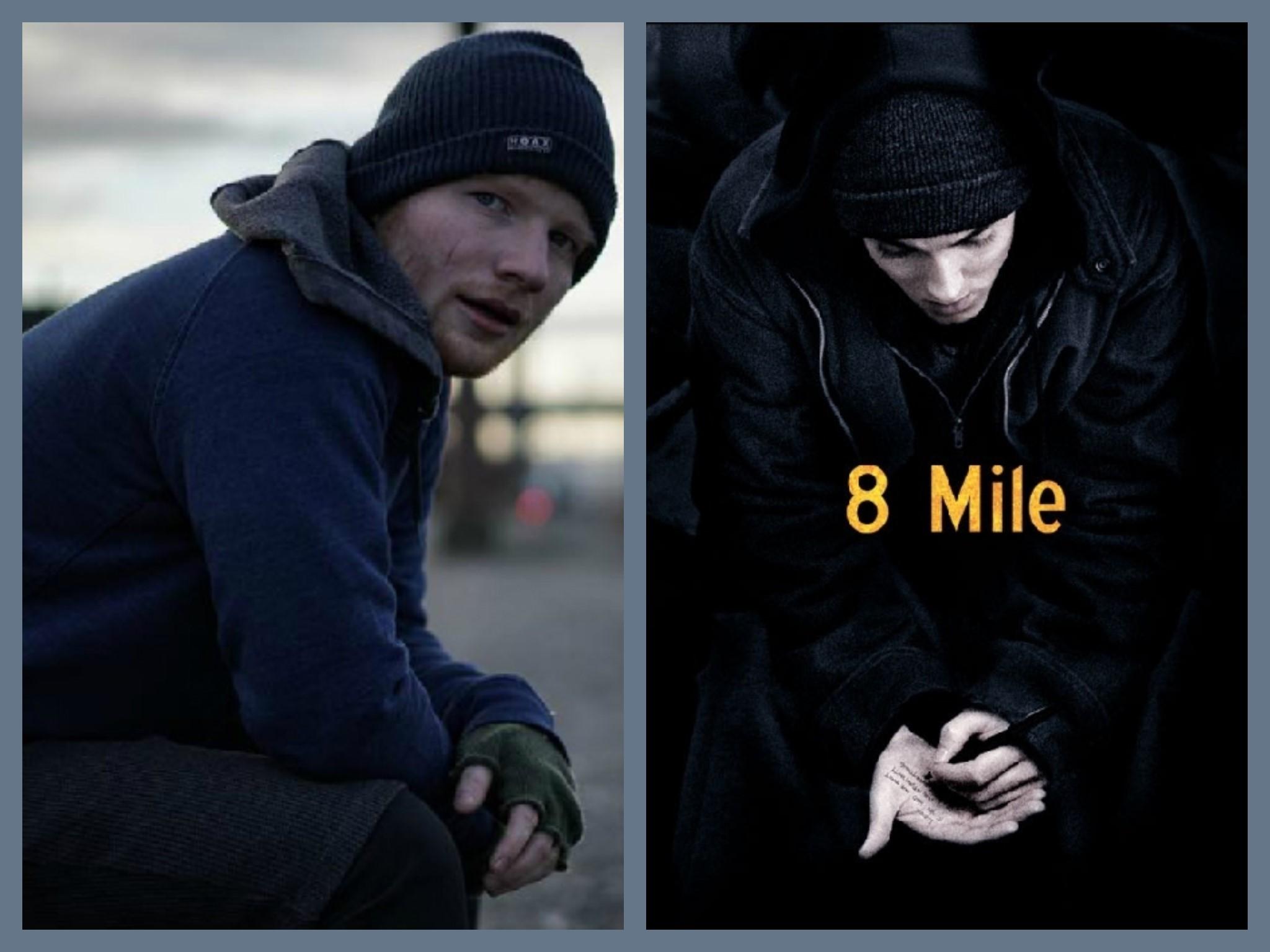 eminem ed sheeran, eminem 8 mile