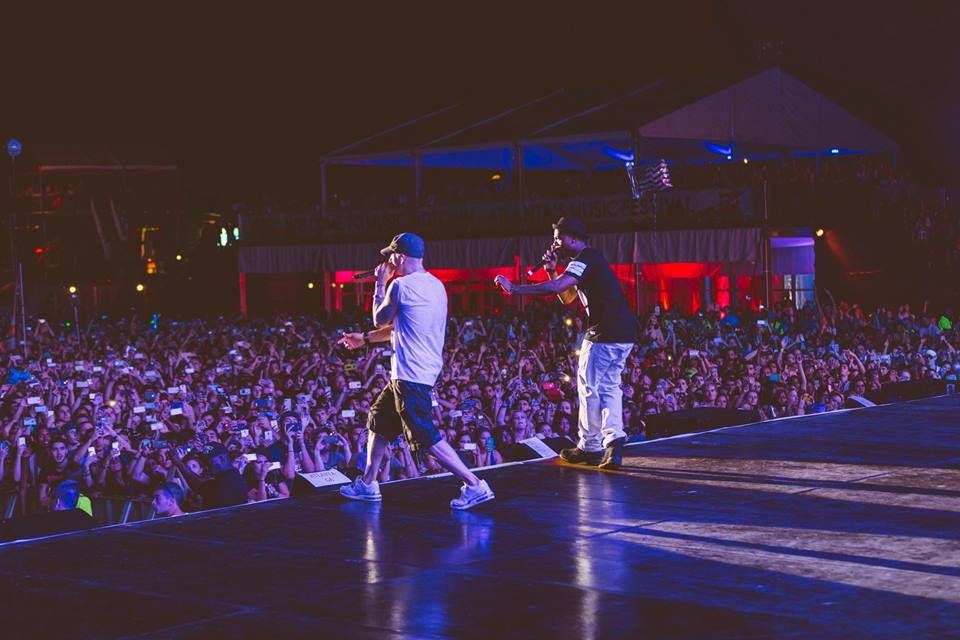 Eminem, B.O.B., live, concert, Atlanta, Airplanes, Music Midtown