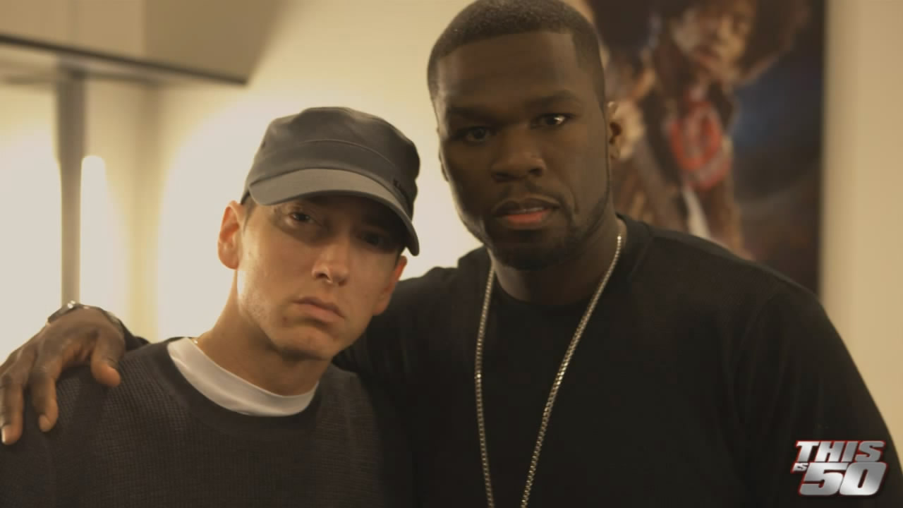 eminem new album, eminem 50 cent