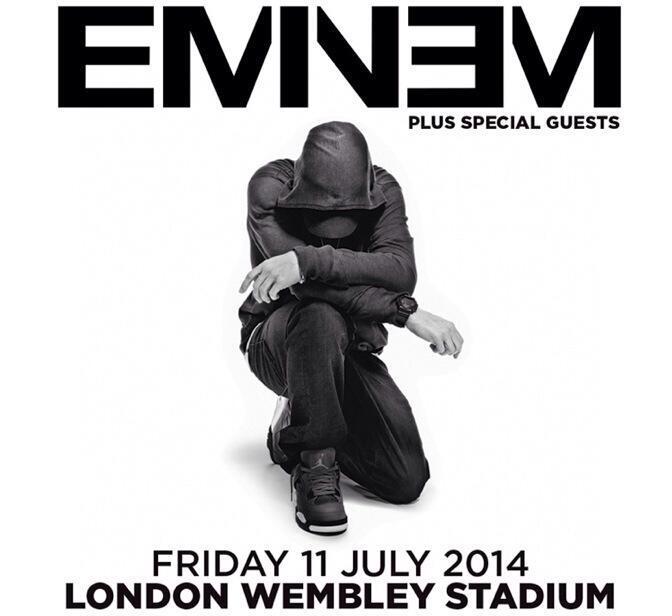 Eminem, live, concerti, Londra