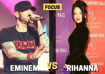 eminem disses rihanna, eminem chris brown, eminem rihanna
