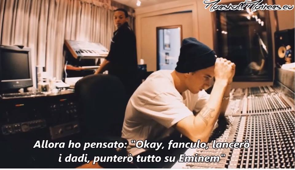 eminem the defiant ones, eminem the defiant ones italiano