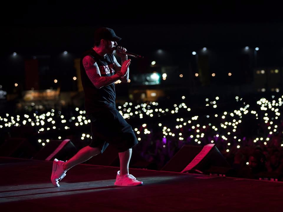 Eminem in concerto al Reading Festival 26/08/2017: Foto e Video