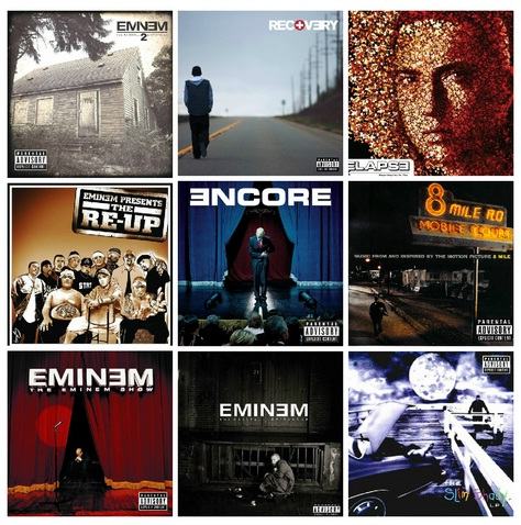 eminem contest, eminem album cover, design album cover eminem, 10 lp vinyl box