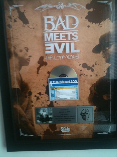 Lighters, Hell:The Sequel, Bad Meets Evil, Royce, Eminem, Mr. Porter, Los Angeles, Billboard