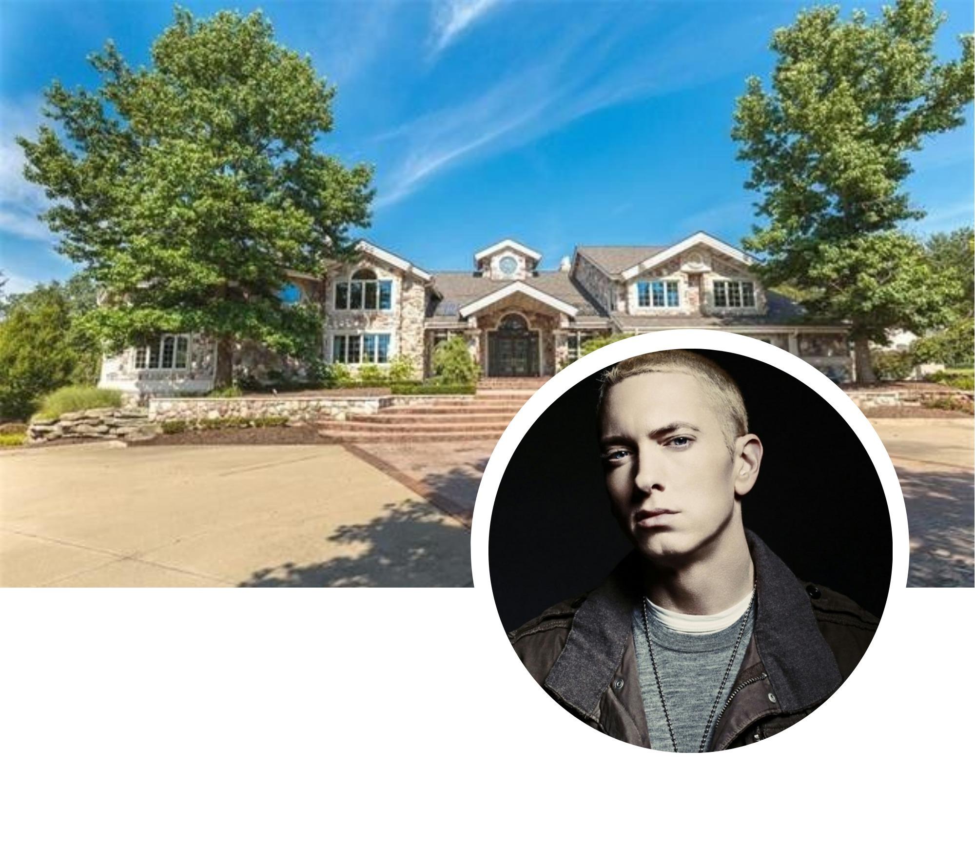 Eminem mette in vendita la propria casa