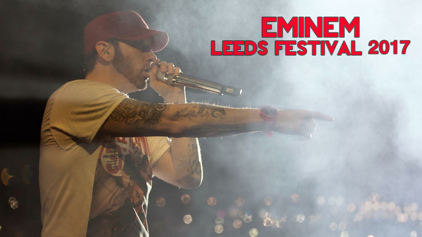 Eminem in concerto al Leeds Festival 27/08/2017: Foto e Video
