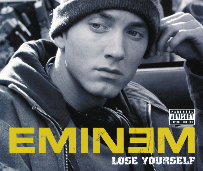 eminem lose yourself, lose yourself classifica UK, lose yourself classifica gran bretagna, lose yourself traduzione