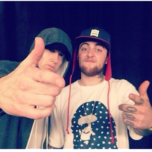 Mac Miller Eminem, Eminem A Waste Of Time With ItsTheReal, Mac Miller intervista, traduzione ShadyXV