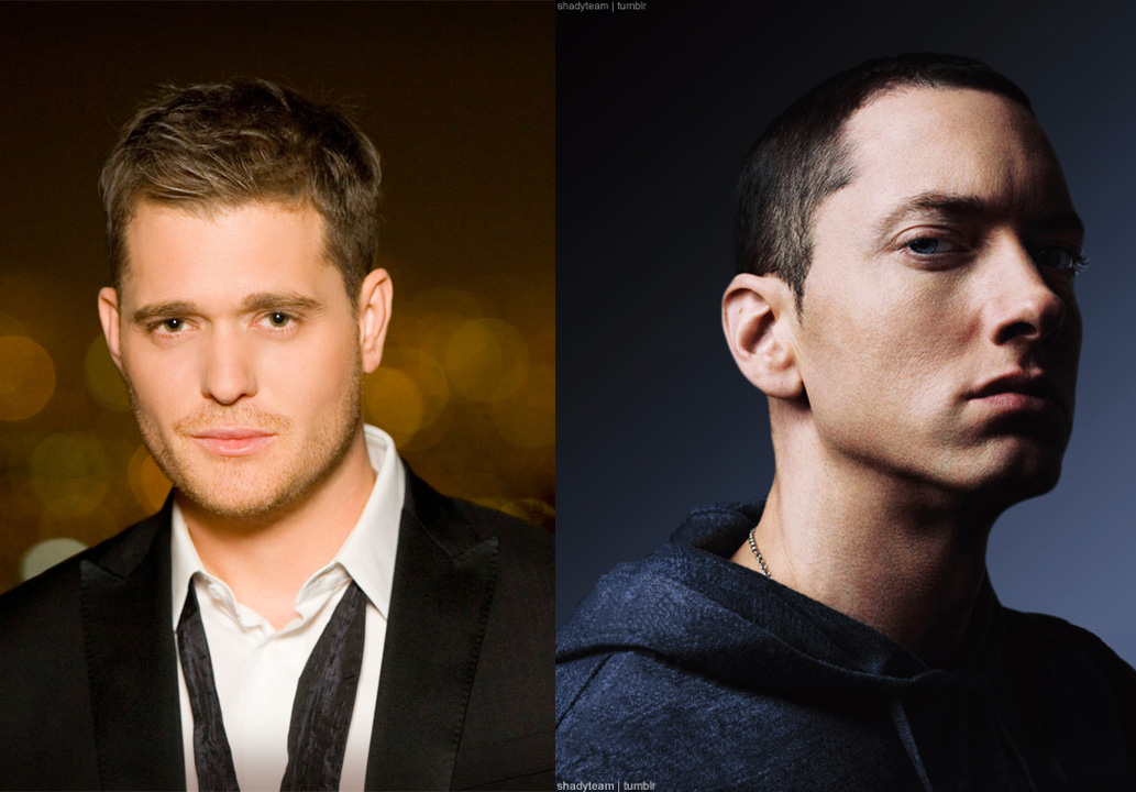 eminem michael bublé, michael bublé lose yourself cover, eminem lose yourself cover