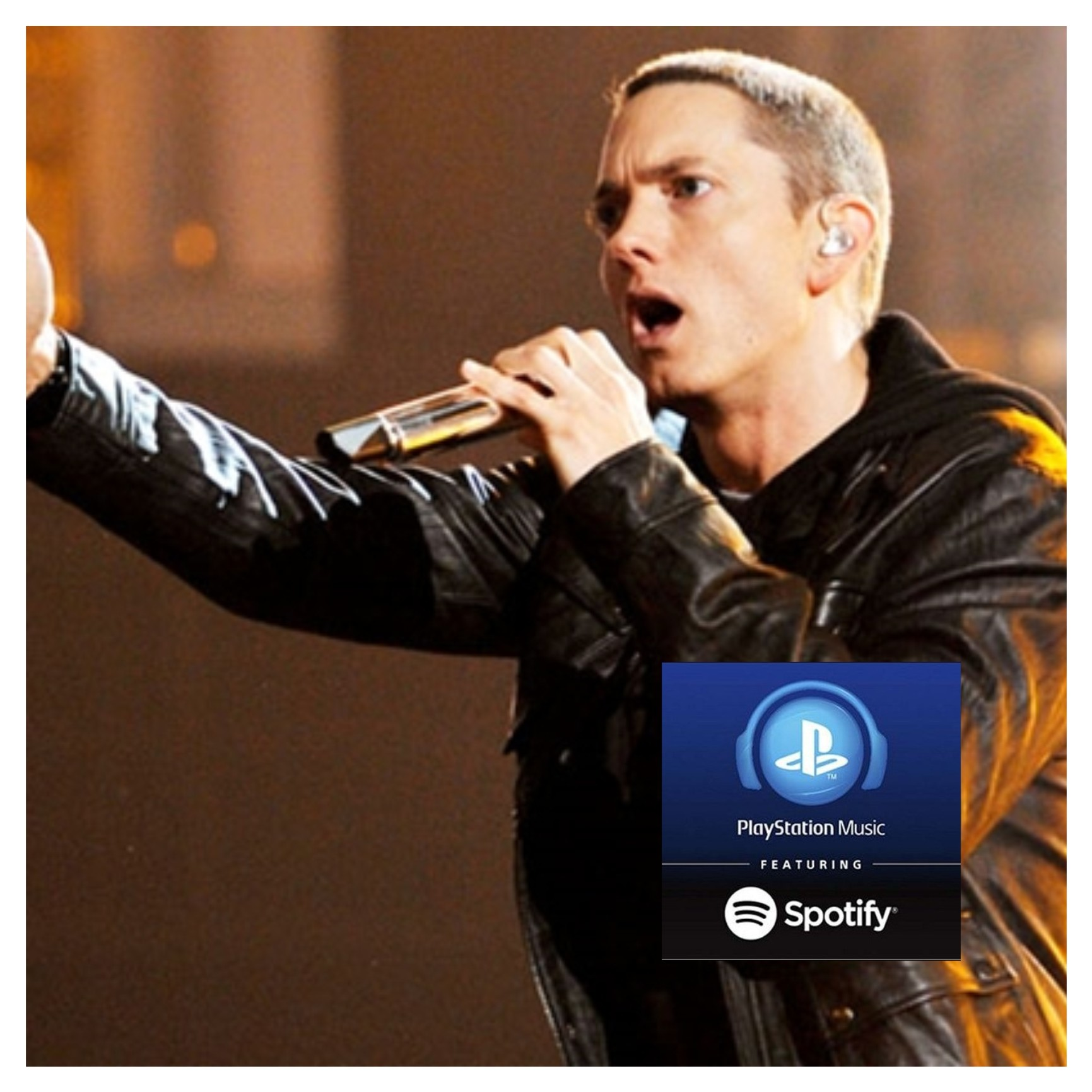 eminem playstation music, eminem spotify, eminem most streamed artist, eminem classifica spotify