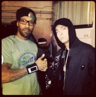 eminem redman, eminem redman off the wall