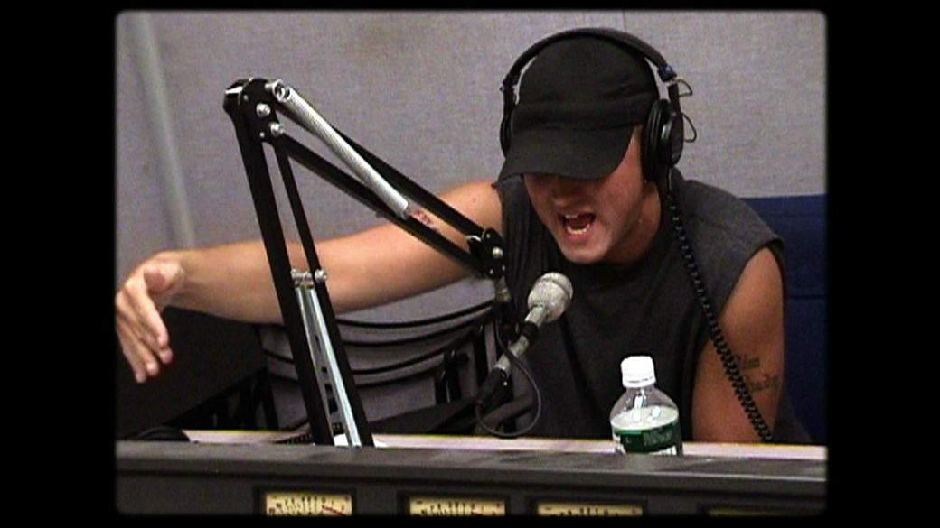 eminem radio that changed lives, eminem stretch bobbito, eminem freestyle, eminem The Stretch Armstrong Show