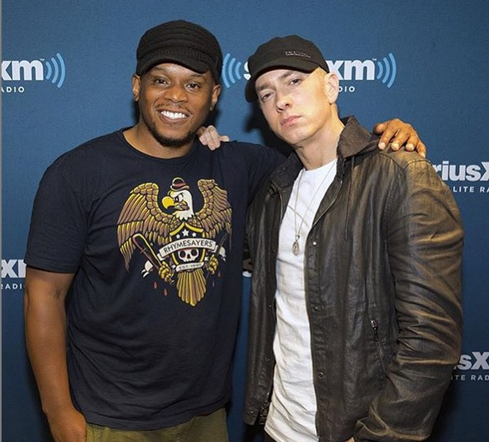eminem new album, eminem new freestyle, eminem campaign speech, eminem sway in the morning