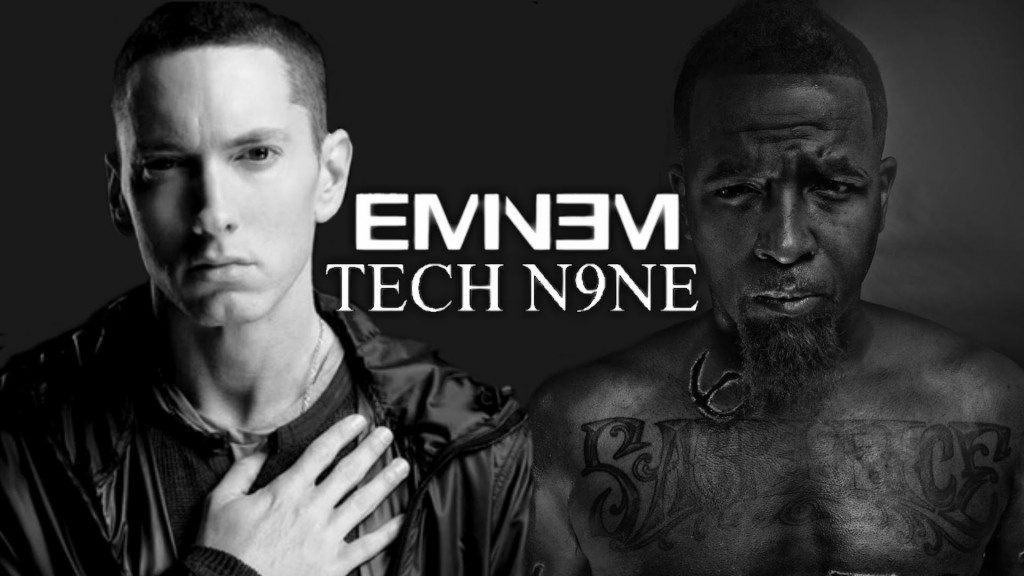 eminem tech n9ne, eminem the anthem, tech n9ne the anthem, eminem tech n9ne collaborazione, eminem speedom