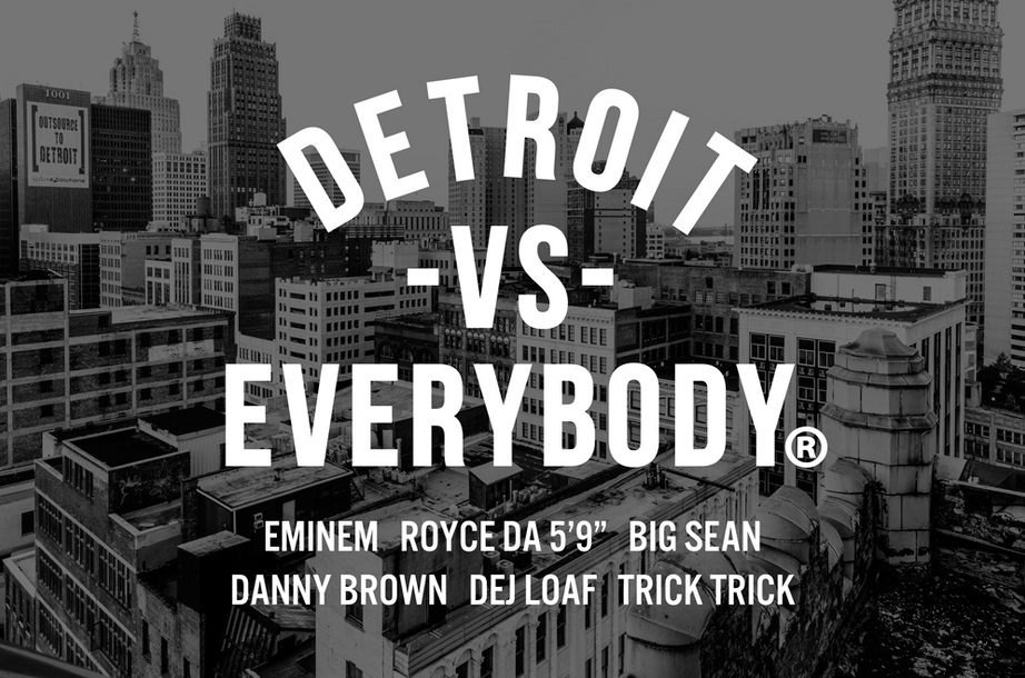 eminem shady xv, eminem detroit vs everybody, big sean, royce da 59
