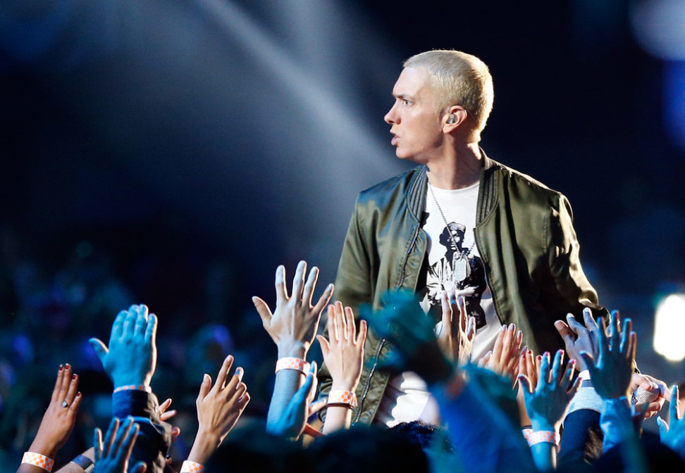 eminem classifica streaming, eminem top 5, eminem top 10, eminem streaming