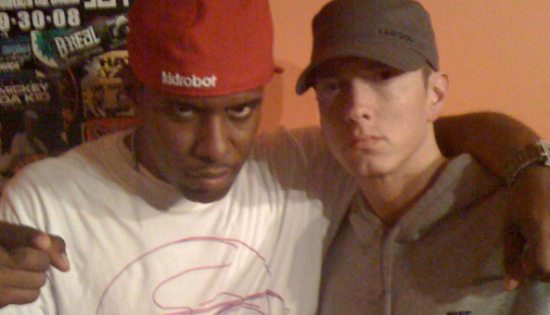 Eminem, Dj Whoo Kid, Shade 45, Beastie Boys, Adam Yauch, Dr. Dre