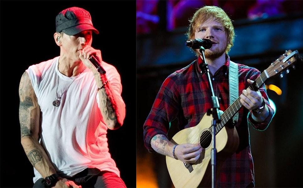 Ed Sheeran, Ed Sheeran eminem