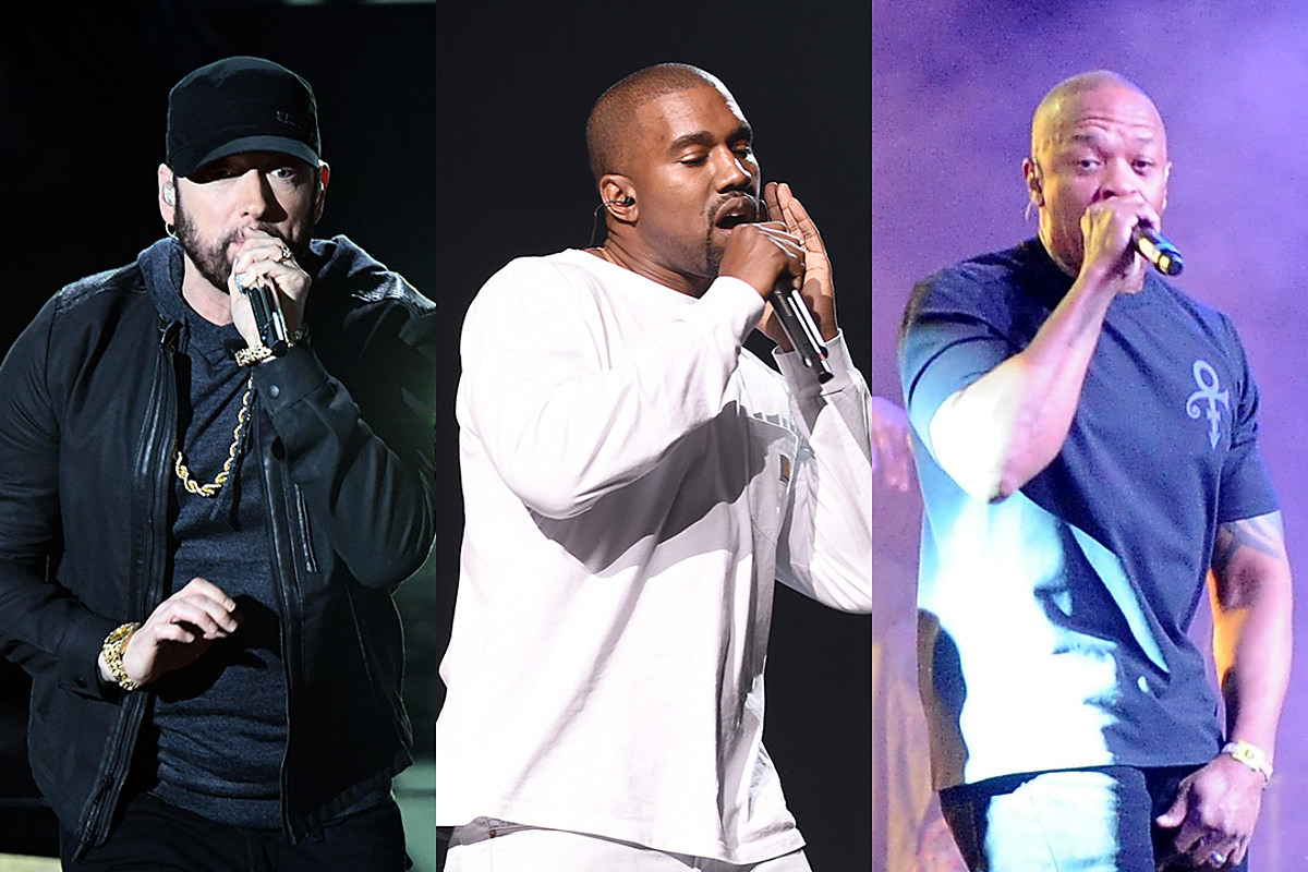 eminem kanye west dr dre use thi gospel