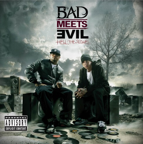 eminem, bad meets evil, royce da 5 9, ep, hell the sequel, space bound, home and home concerts