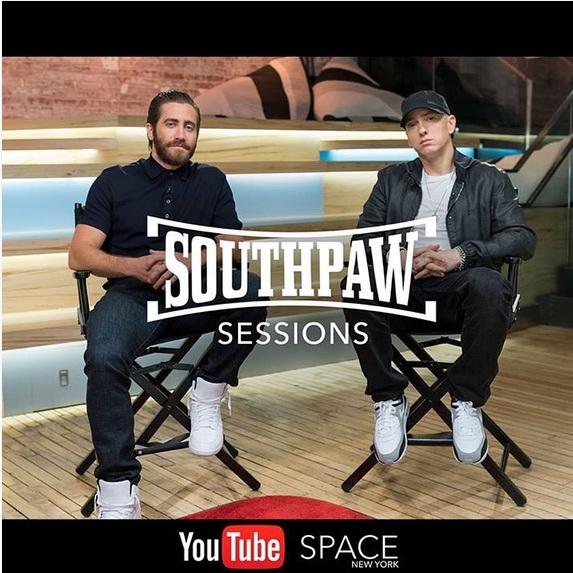 eminem jake gyllenhaal, eminem southpaw, eminem intervista, eminem youtube