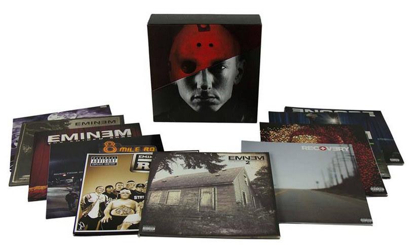 Eminem vinyl set, eminem lp box set, eminel vinyl box set