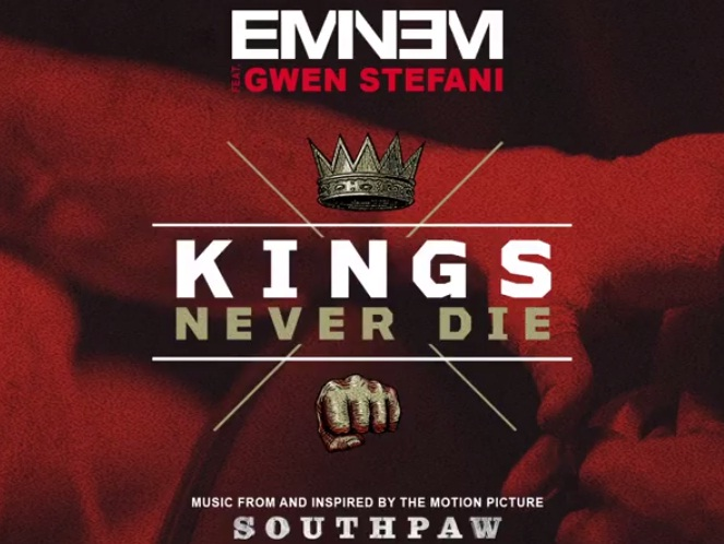 eminem kings never die, kings never die, eminem ft gwen stefani, eminem e gwen stefani, southpaw soundtrack