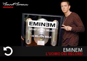 eminem records, eminem vendite, eminem classifica, eminem guadagni