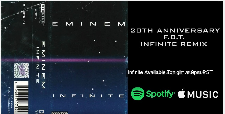 infinite remix, eminem infinite,