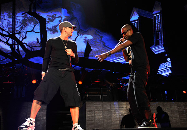eminem classifica, eminem billboard, eminem jay z