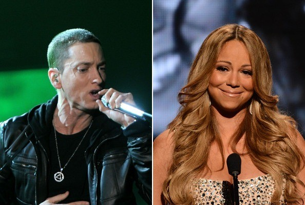 eminem mariah carey, eminem the warning, eminem mariah carey relazione, eminem mariah carey together