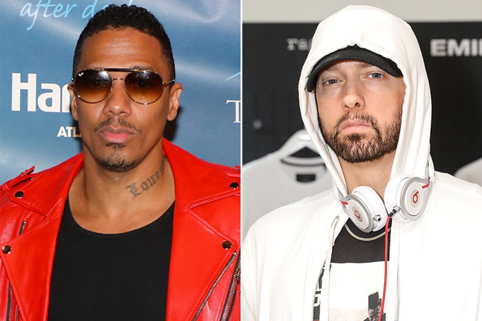 eminem nick cannon,  nick cannon diss, eminem diss