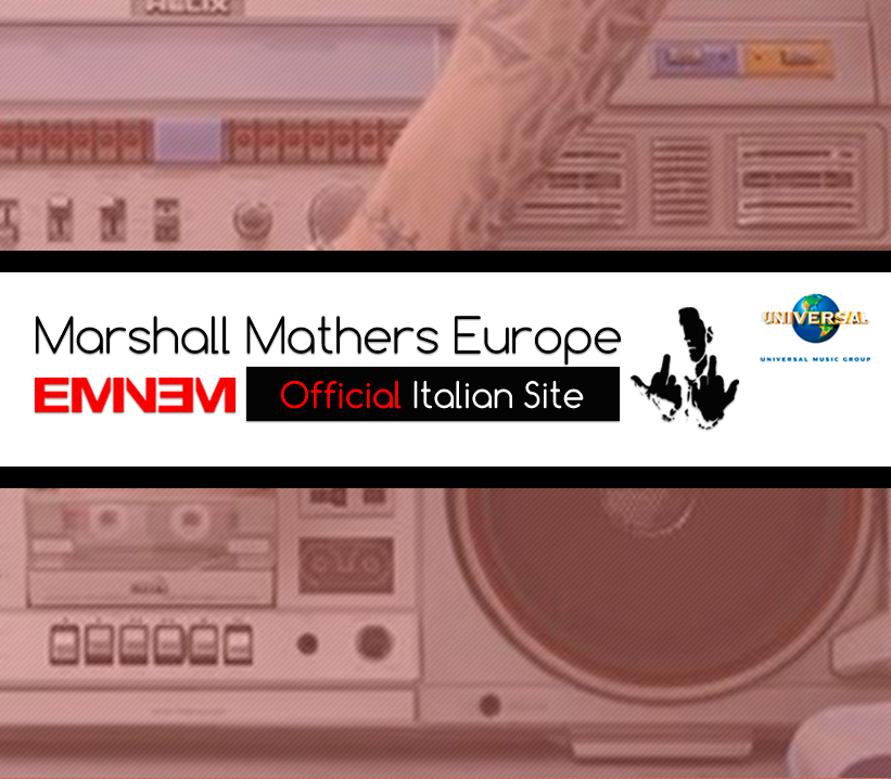 eminem official site, universal music italia