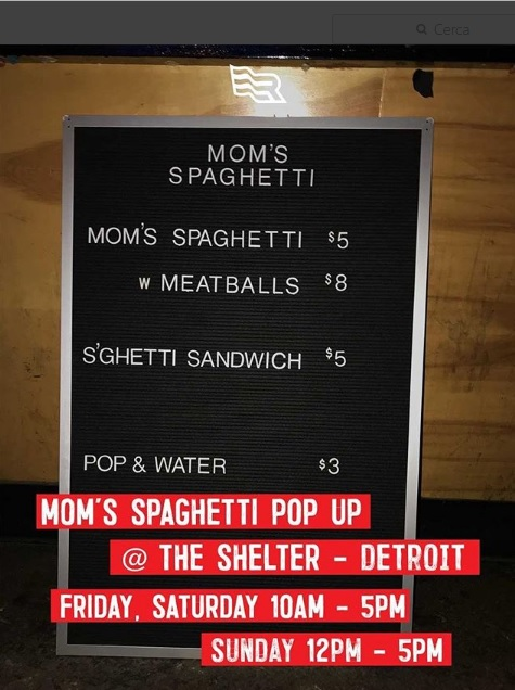 eminem store, eminem detroit store, eminem mom´s spaghetti, eminem revival