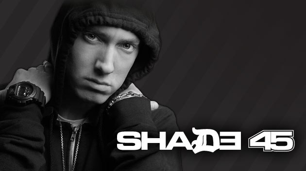 eminem the storm, eminem shade 45
