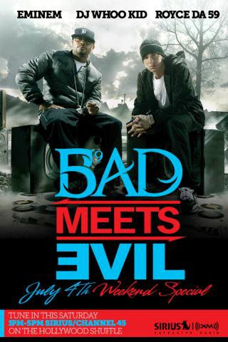 Bad Meets Evil, Dj Whoo Kid, Shade 45