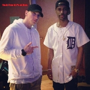 Eminem e Big Sean in studio